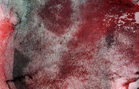 Abstract art in dark red tones.
