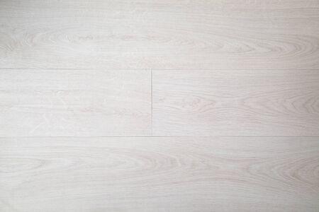 Light beige wooden floor top view.