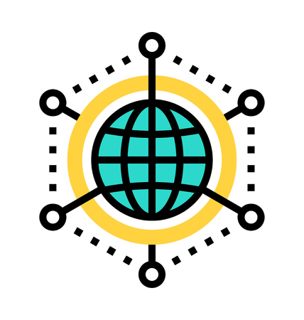Communication icon vector illustration.
