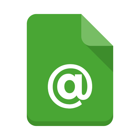 mail Document vector icon