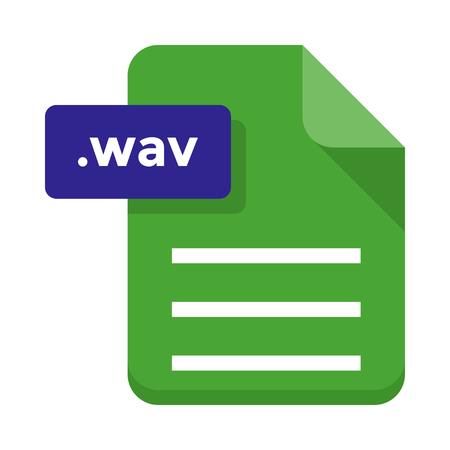wav: file Illustration