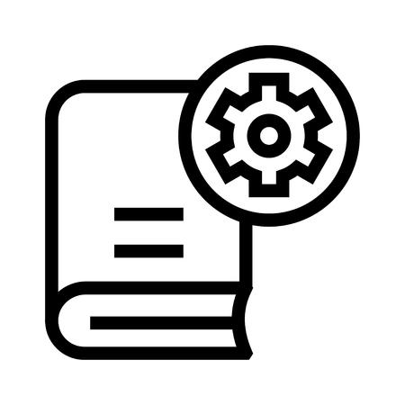 book setting icon