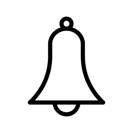 alarm line icon Ilustrace