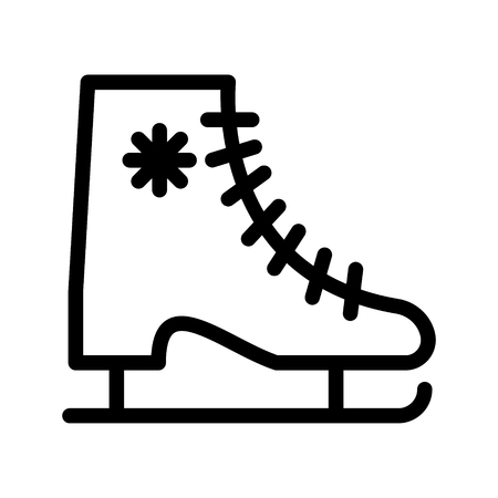skating icon Illustration