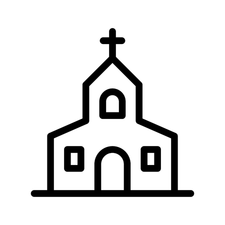 catholic church Illustration