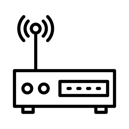 modem icon Illustration