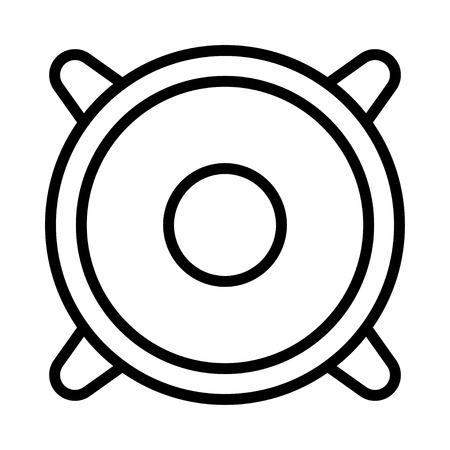 Lautsprechersymbol Vektorgrafik