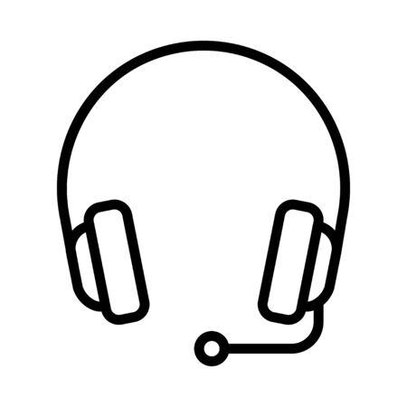 headset  向量圖像