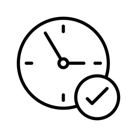 time 向量圖像