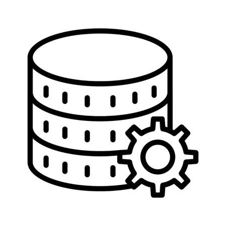 database Standard-Bild - 128962331