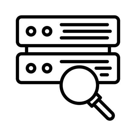 database Standard-Bild - 128963032