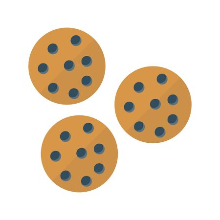 cookies vector illustration Banque d'images - 131246827