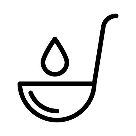 spoon icon Stock fotó - 133487710