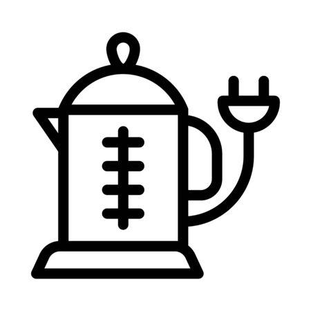 kettle vector illustration Archivio Fotografico - 138474321