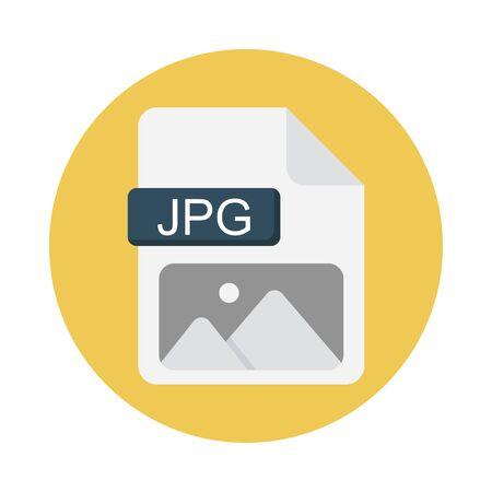 JPG file Vector Illustration