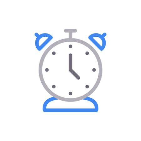 clock icon for website design and desktop envelopment, development. Premium pack. Векторная Иллюстрация