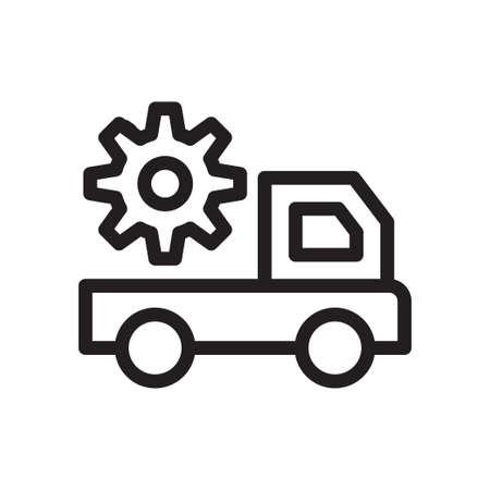 logistics truck Vettoriali