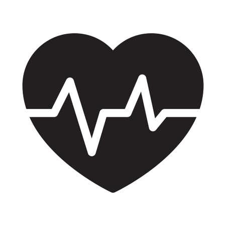heart icon for website design and desktop envelopment, development. Premium pack. Vector Illustration