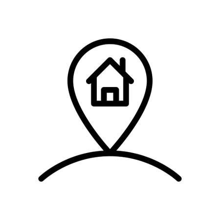 house location Stock Illustratie