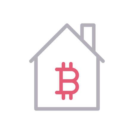 house crypto 矢量图像