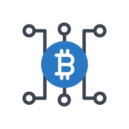 crypto money 矢量图像