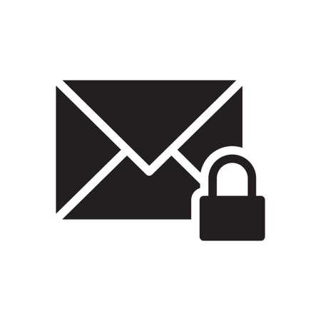 lock message 向量圖像