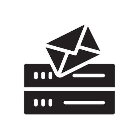 server mail Ilustração