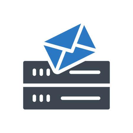 database email Ilustração