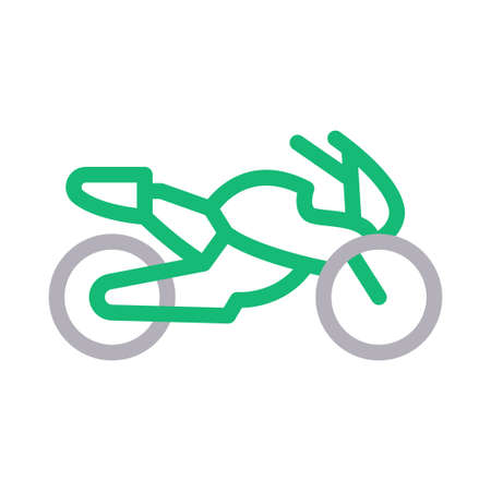 heavy bike Illustration