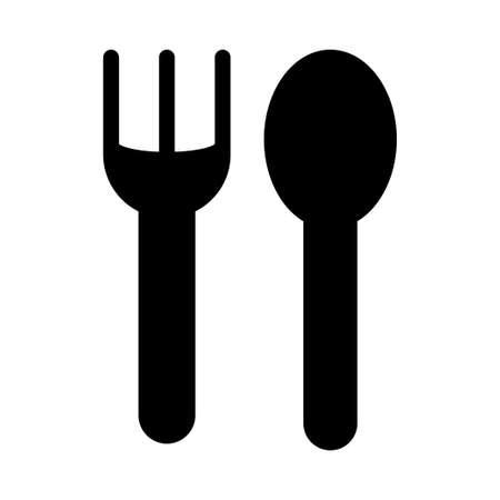 fork & knife 일러스트