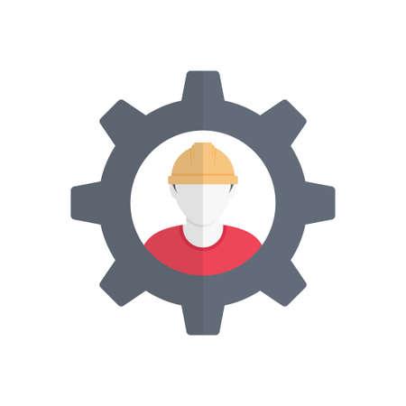 worker design illustration