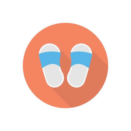 flip flop design illustration