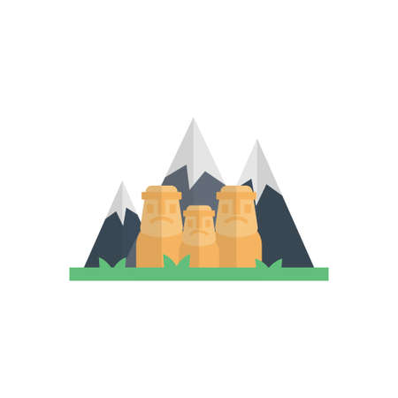 hills  icon design
