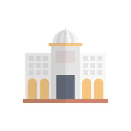 landmark  building icon design