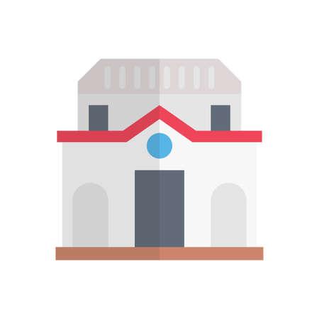 world landmark building icon design