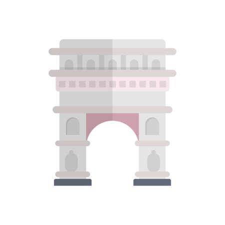 landmark building icon design Vettoriali