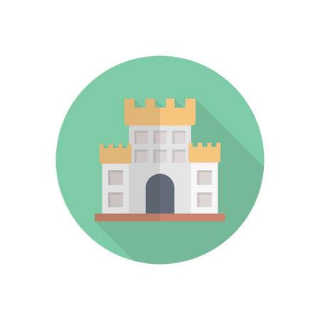 historical building icon design