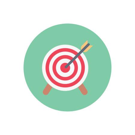 achievement vector flat color icon