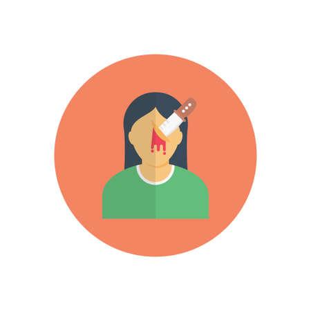 knife icon for website design and desktop envelopment, development. Premium pack. Vektorgrafik
