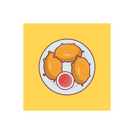 fast food icon for website design and desktop envelopment, development. Premium pack.
