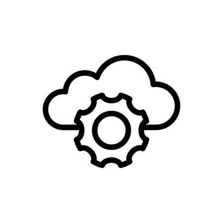 setting icon for website design and desktop envelopment, development. Premium pack.