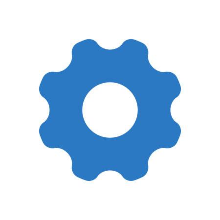 preference vector glyph colour icon Ilustración de vector