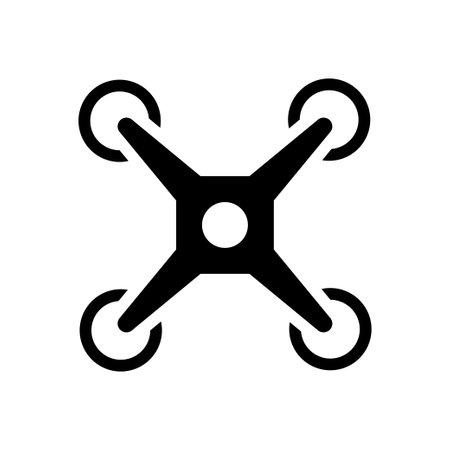 camera vector glyph flat icon Ilustración de vector