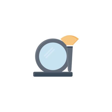makeup vector flat colour icon
