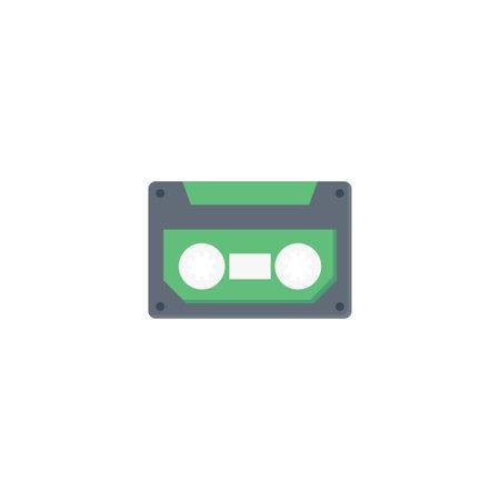 tape vector flat colour icon Stok Fotoğraf - 162296147