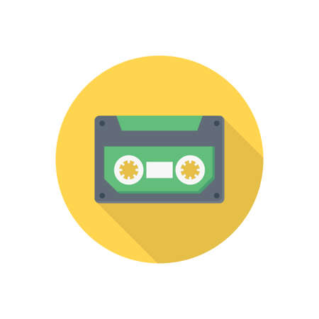 tape vector flat colour icon