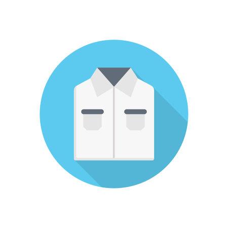 shirt vector flat colour icon Çizim