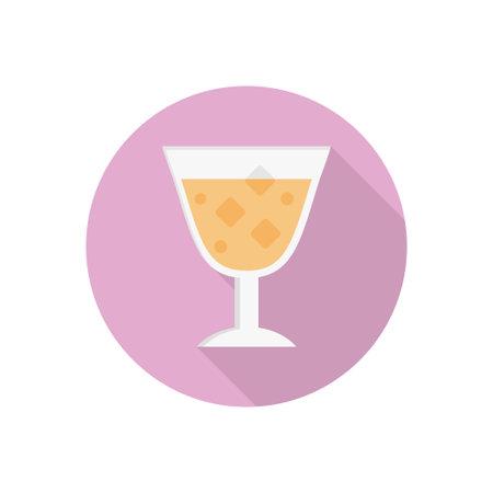 juice vector flat colour icon Stok Fotoğraf - 162296180