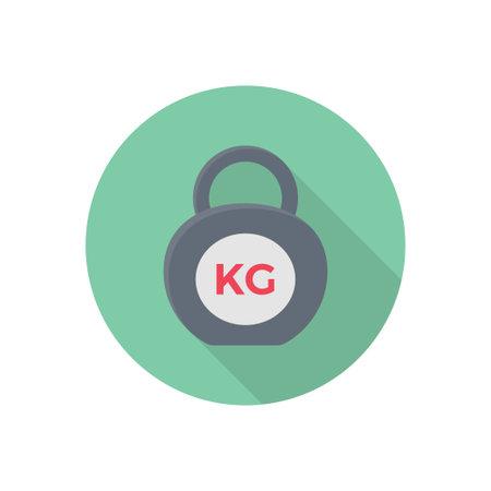 KG vector flat colour icon