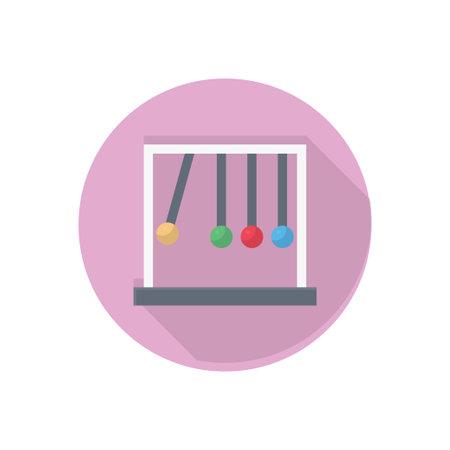 pendulum vector flat colour icon Stok Fotoğraf - 162296195